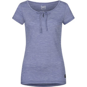 super.natural Relax T-shirt Dames, coastal fjord melange